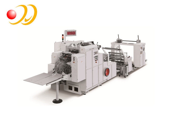Fast Fixed - Size Paper Bag Making Machine Multi - Function With Window