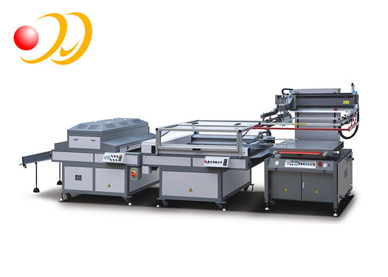 Automatic 4 Station Screen Printing Machines For Business Card