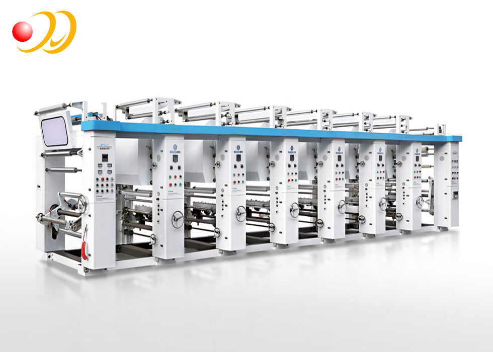 Multi - Color General Rotogravure Printing Machine High Speed