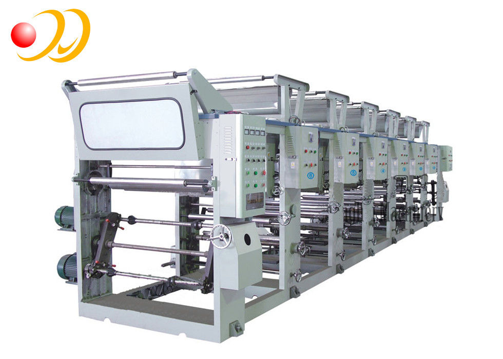 44kw Six Color Rotogravure Printing Machine Automatic For Package Bag