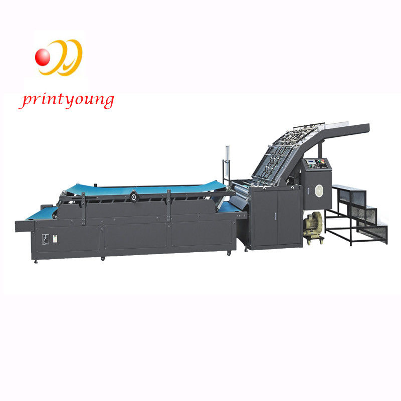 Semi Automatic Flute Laminating Machine With High Desktop Art