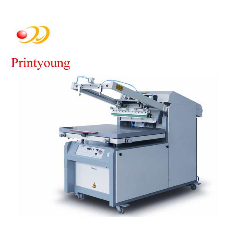 Semi - Automatic Paper / Label Silk Screen Printing Equipment 380V 3kw