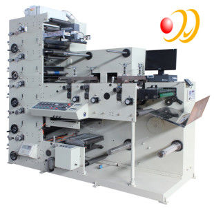 3 Phase 380V 50HZ 5 Color Flexographic Printing Machine With Uv Aire