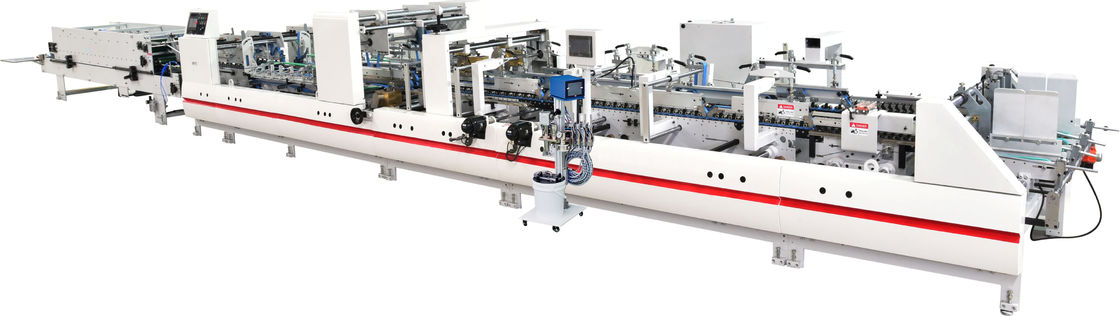 Electric Driven Glue Pasting Machine Unit Type Structure With High Speed